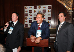 LEITER LAUGHS AT GIRARDI AUCTION.JPG